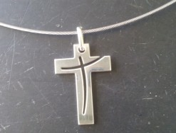 croix en argent, croix en pendentif, croix bijoux