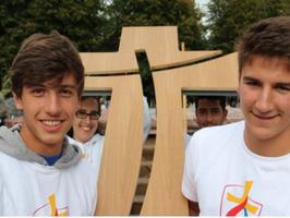 croix de la pastorale des jeunes