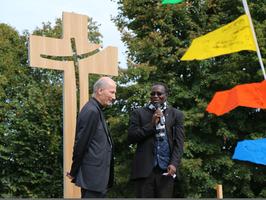 croix en bois, monseigneur d'Ornellas