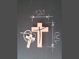 croix chrétienne, croix design, croix stylisée,