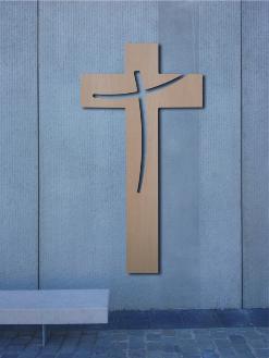croix, croix en bois, croix sur mesure, christ en croix, croix chrétienne, croix catholique